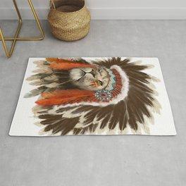 Lion Chief Rug