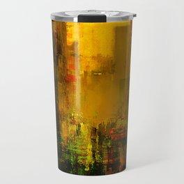 Yellow City Travel Mug