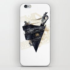 Back on the train iPhone & iPod Skin