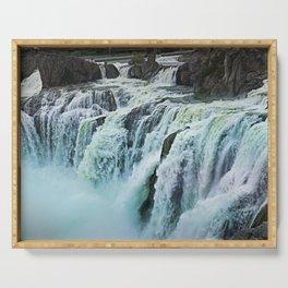 Shoshone Falls Park falls idaho Serving Tray