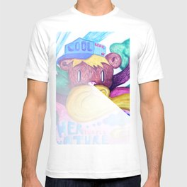 Mother purple nature T-shirt