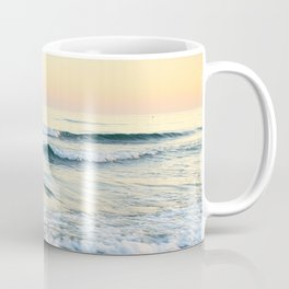 Serenity sea. Vintage. Square format Coffee Mug
