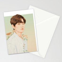 nurture. growth. [baekhyun exo] Stationery Cards