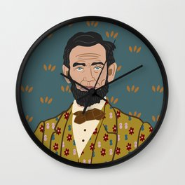 Abe Lincoln Wall Clock