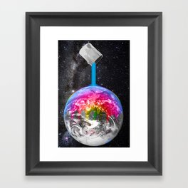 Canopy of Color Framed Art Print