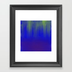 Deep Sea Reflections Framed Art Print