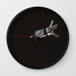 space module USA Wall Clock