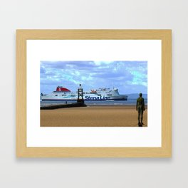 Belfast Ferry Framed Art Print