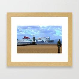 Belfast Ferry Framed Art Print