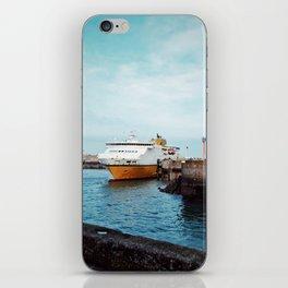 MV Côte d'Albâtre at Dieppe iPhone Skin