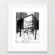 asc 2013 - Le bain nordique (The cold dip) Framed Art Print