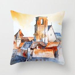 akwarelka 94 Throw Pillow