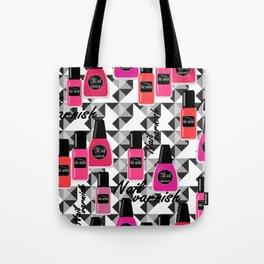 Nail Polish Tote Bag