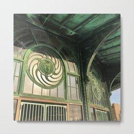Asbury Park Carousel Metal Print