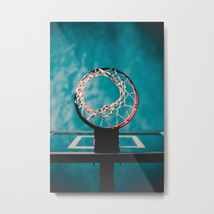 basketball hoop 6 Metal Print