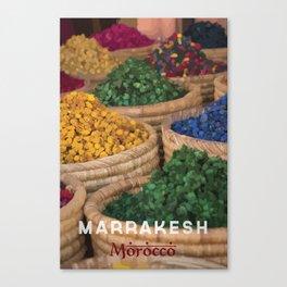 Marrakesh, Morocco Canvas Print