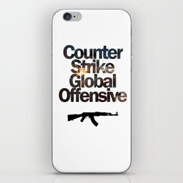 Counter Strike - Global Offensive  iPhone Skin