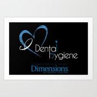 Dimensions Art Print