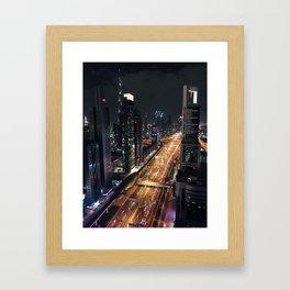Sandbox City Framed Art Print