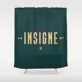 Insigne 10 Shower Curtain