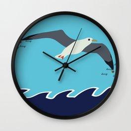 Bråkemåken Wall Clock