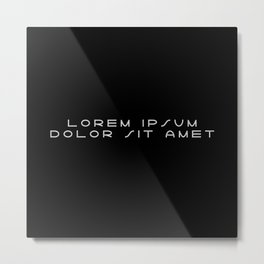 Lorem ipsum dolor sit amet - Lightyear Metal Print
