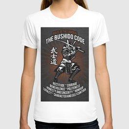 Samurai Bushido Code T-shirt
