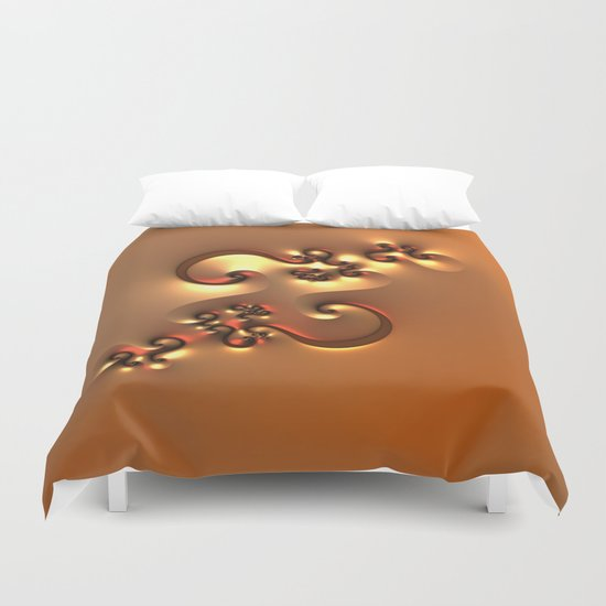 Curvy One Duvet Cover