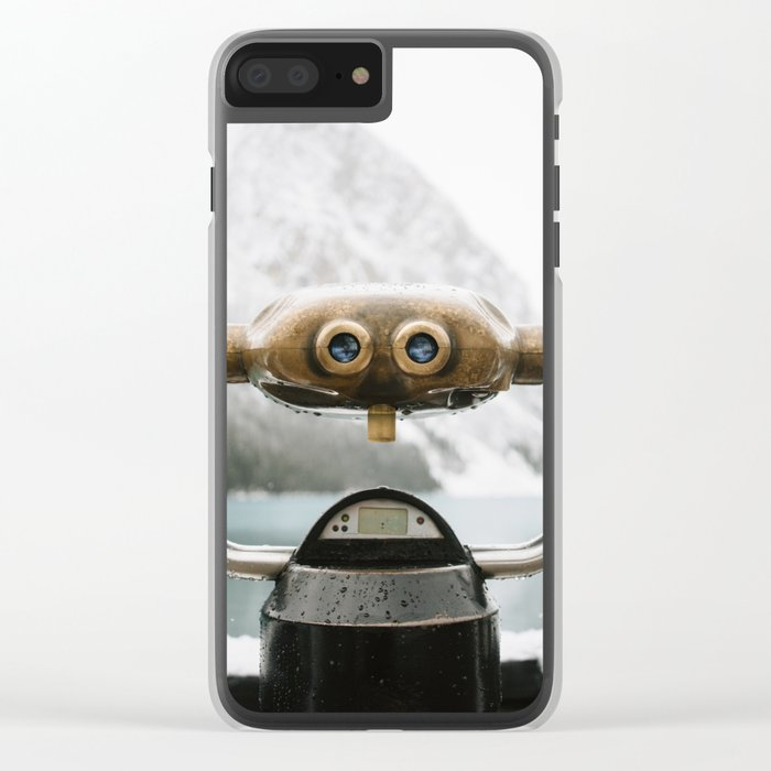 Lake Louise #landscape #society6 Clear iPhone Case