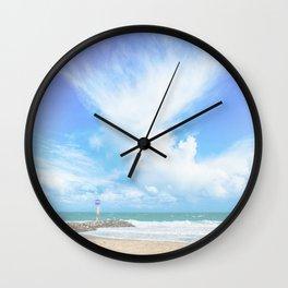 City Beach Wall Clock