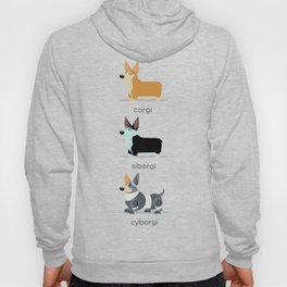 corgi, siborgi, and cybogi Hoody