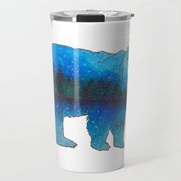 Evergreen Bear Travel Mug