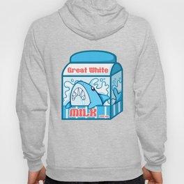 Great White Milk Hoody
