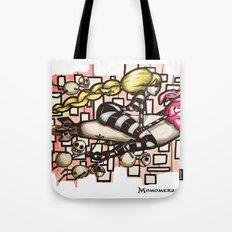Bomb Girl Tote Bag