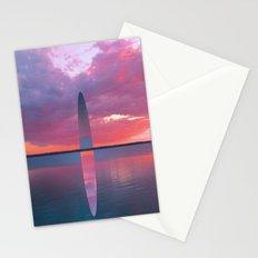 Lake Ellipse Stationery Cards