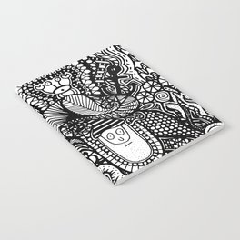 Under the Sea Doodle Notebook