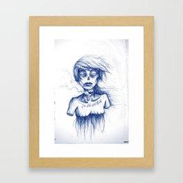 SAME OLD STUFF. Framed Art Print