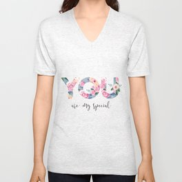 You are special Unisex V-Neck