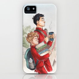 Sulu and Chekov - Starfleet Academy iPhone Case