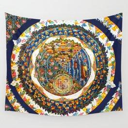 Tibetan Shambala Mandala 33 Wall Tapestry