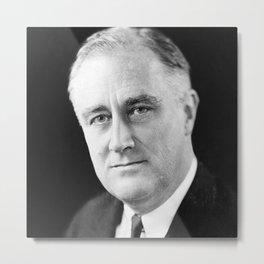 Franklin D Roosevelt Metal Print