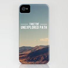 Take The Unexplored Path Slim Case iPhone (4, 4s)