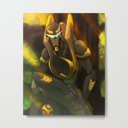 Transformers Animated: Prowl Metal Print