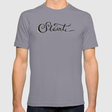 Sláinte Mens Fitted Tee Slate SMALL