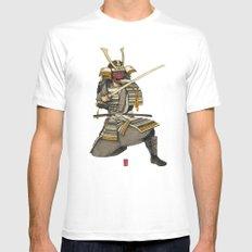 Samurai 1 Version A Mens Fitted Tee White MEDIUM
