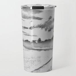 Jamaican Sunset Sketched Travel Mug