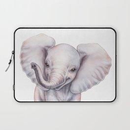 Baby Elephant, Safari Baby Animals, Cute Nursery Animals Baby Room Decor Laptop Sleeve