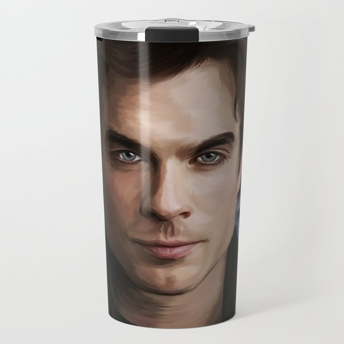 Damon Salvatore (Ian Somerhalder) Travel Mug