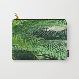 Exotic Palm Leaves Blowing In A Tropical Breeze Carry-All Pouch
