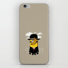Magritte banana iPhone & iPod Skin